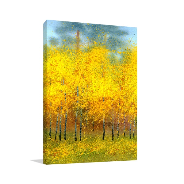 Autumn Trees Canvas Artwork
