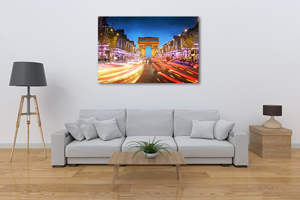 Avenue des Champs-Elysees Prints Canvas