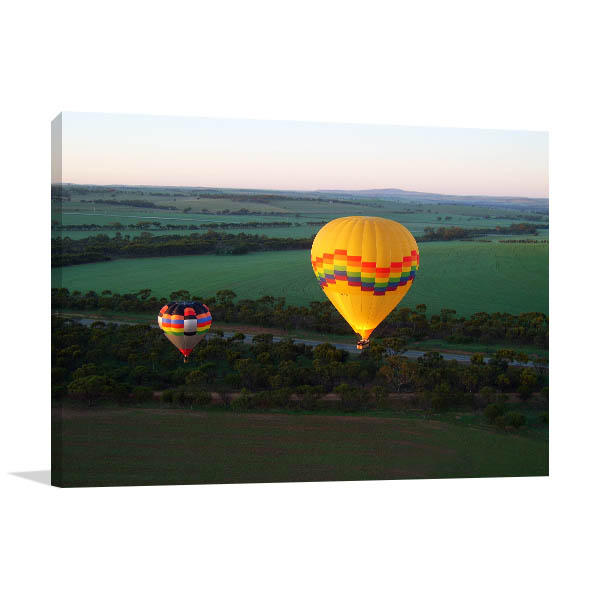 Avon Valley Perth Art Print Hot Balloon Prints Canvas