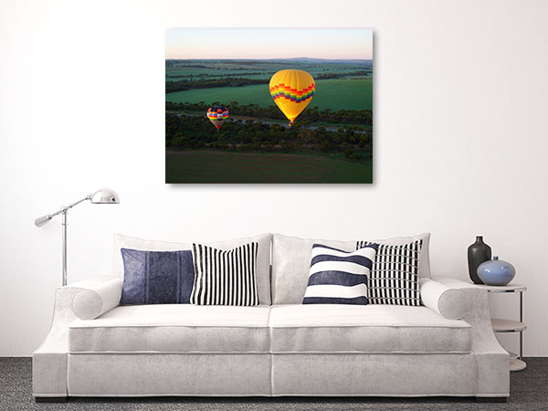 Avon Valley Perth Art Print Hot Balloon Print Artwork