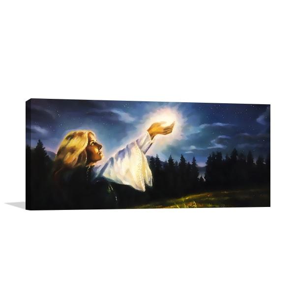 Awakening Light Wall Canvas