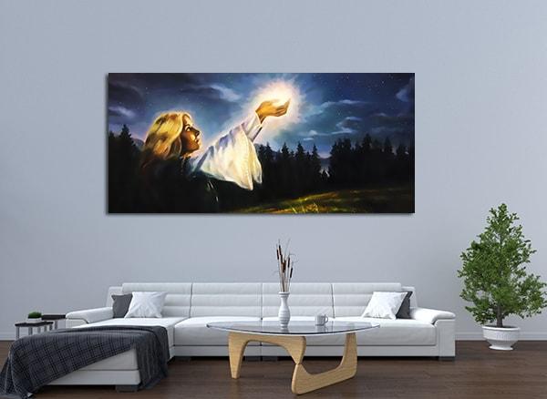 Awakening Light Print Art Canvas on the Wall
