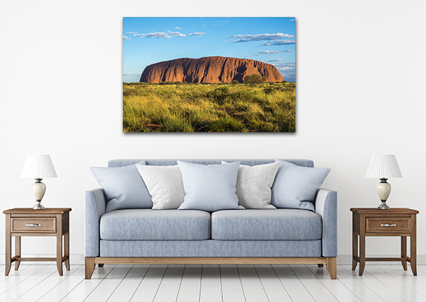 Ayers Rock Art Print on the wall