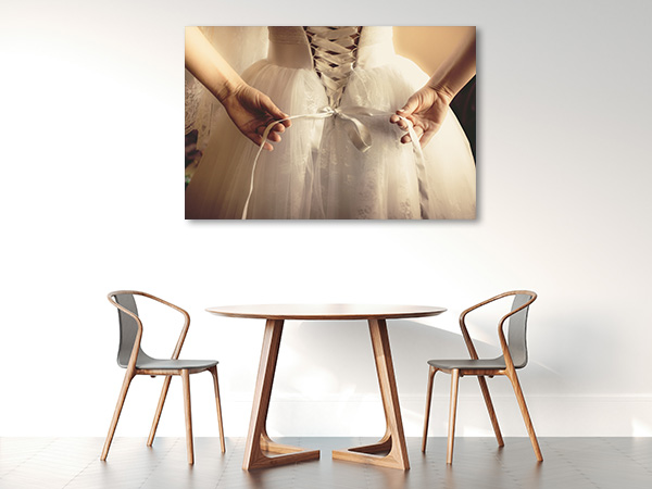 Ballet Dress Canvas Art