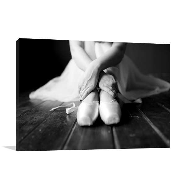 Ballet Shoes Canvas Prints