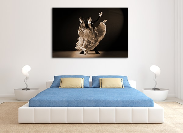 Ballroom Dancer Prints Canvas