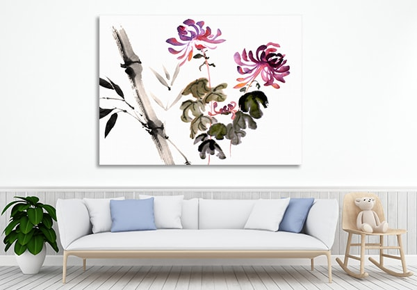Bamboo Bloom Art Prints