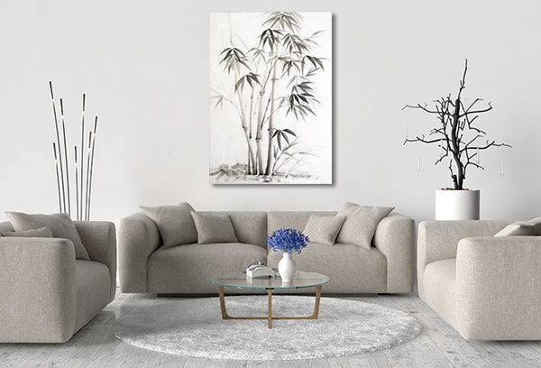 Bamboo Paint Artwork