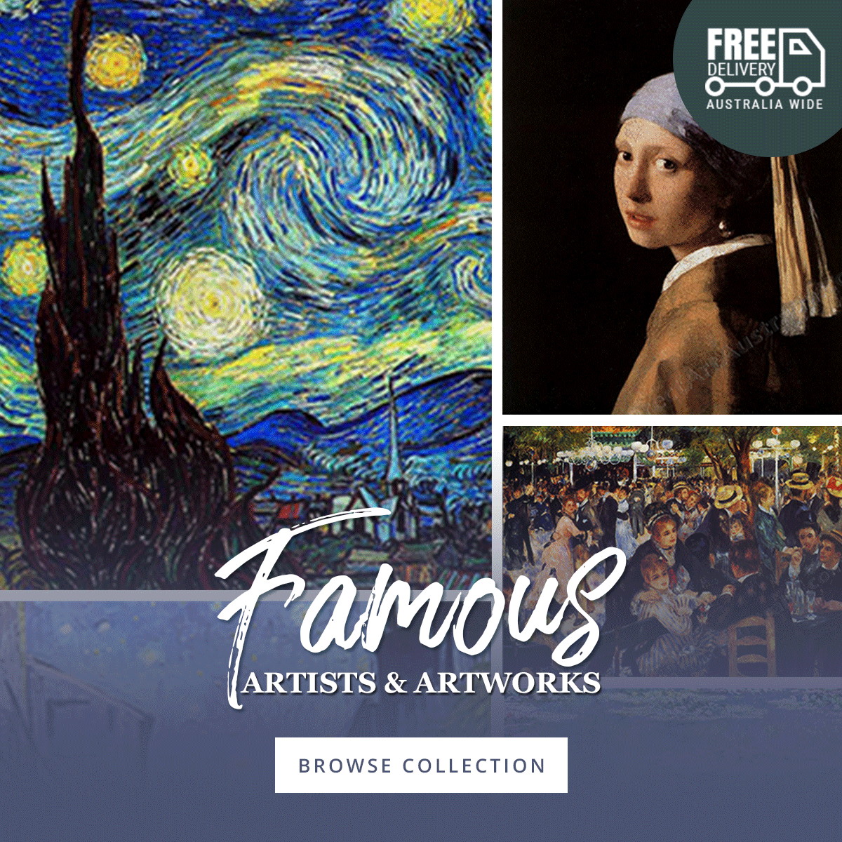 Famous Artists And Artworks