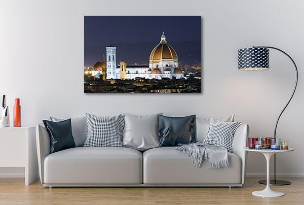 Basilica At Night Artwork