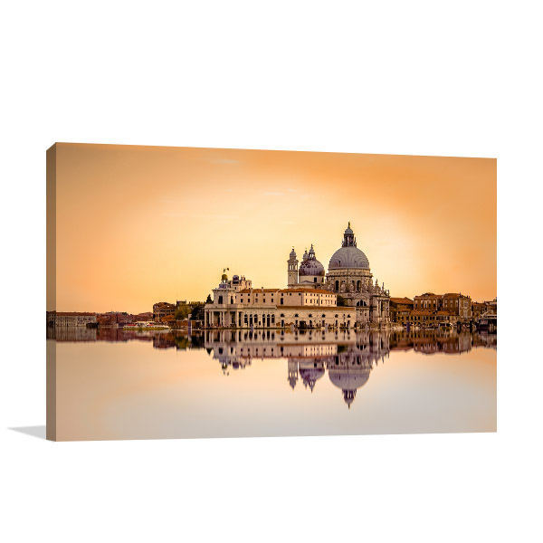 Basilica di Santa Maria Canvas Art Prints