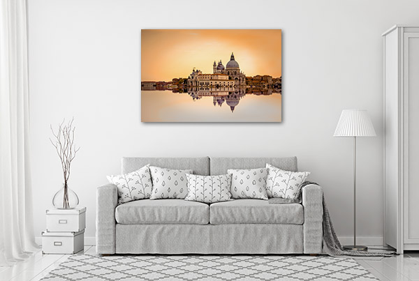 Basilica di Santa Maria Prints Canvas