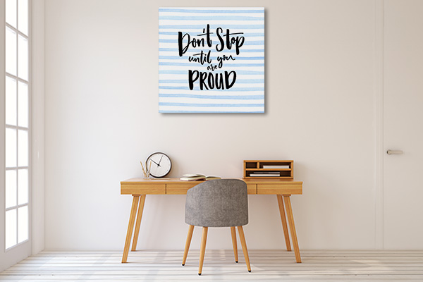 Be Proud Prints Canvas
