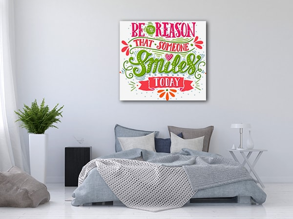 Be The Reason Canvas Prints