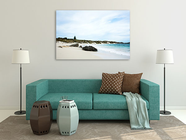 Beach at Rottnest Island Canvas Prints