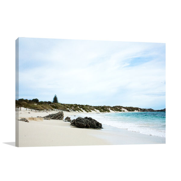 Beach at Rottnest Island Art Prints