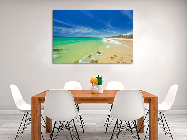 Beach Australia Sunshine Coast Canvas Prints