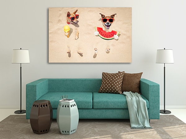 Beach Buddies Canvas Prints