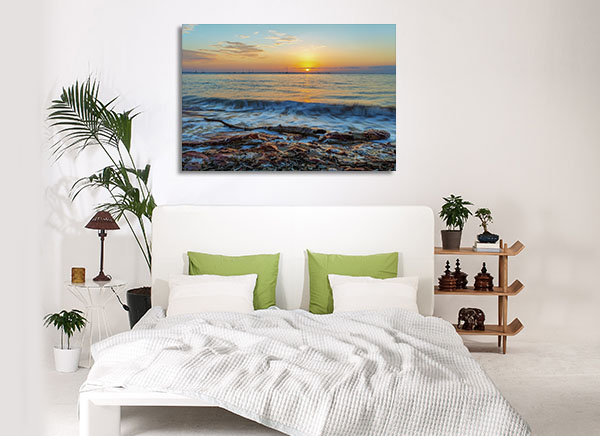 Beach Dawn Darwin Wall Art