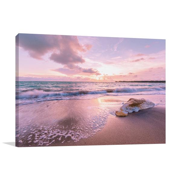 Beach Sunset Darwin Wall Art