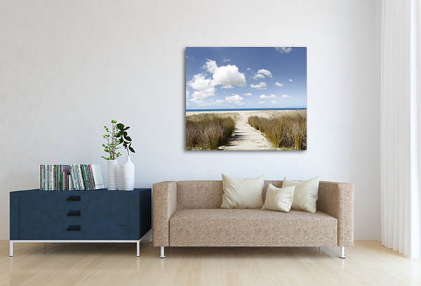 Beach Trailway Art Prints