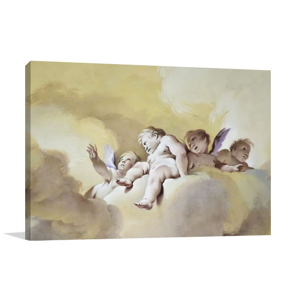 Beautiful Angels Canvas Prints