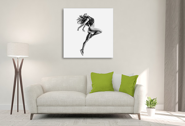 Beautiful Dancer Prints Canvas