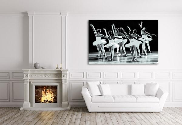 Beautiful Dancers Print Artwork