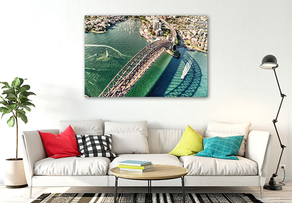 Beautiful Day Sydney Canvas Art Prints