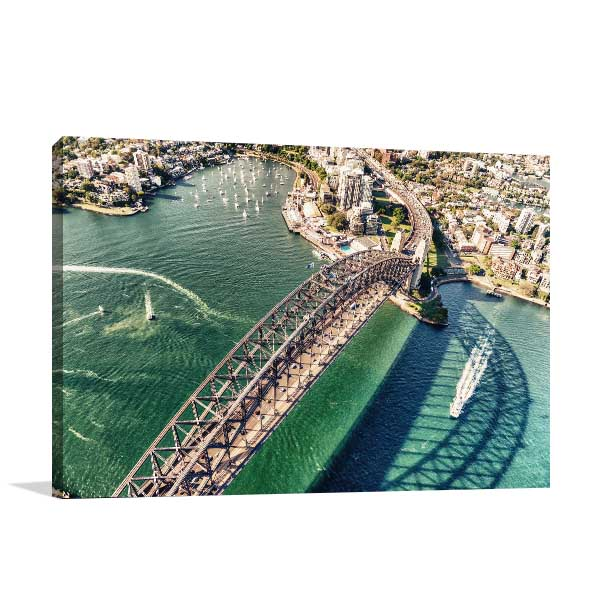 Beautiful Day Sydney Canvas Art