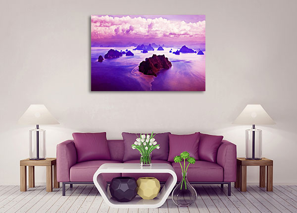 Beauty Islands Canvas Prints