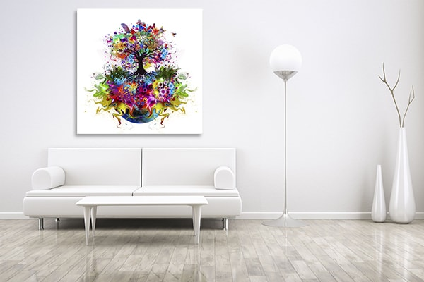 Beauty of Life Canvas Prints