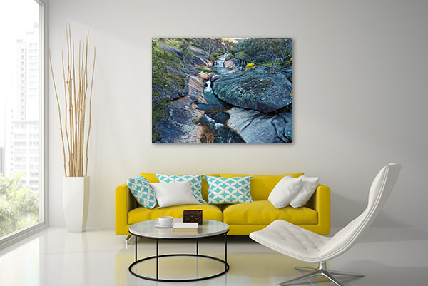 Beechworth Spring Creek Canvas Wall Art