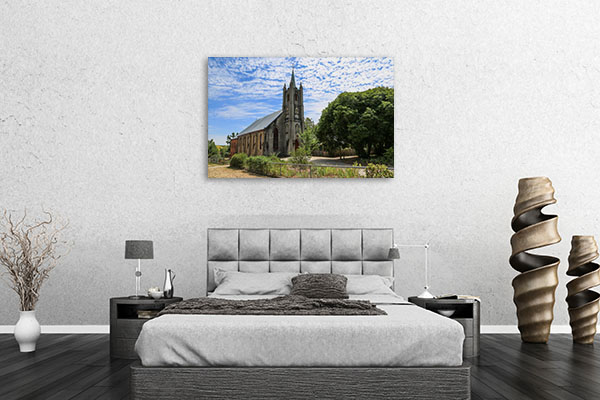Beechworth St Andrew Church Canvas Art Prints