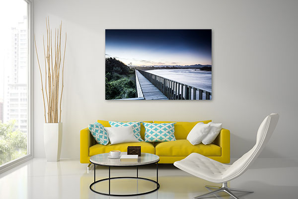 Bellingen Horizon Lake Canvas Prints