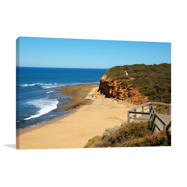 Bells Beach Art Print Great Ocean Road Canvas Wall Art