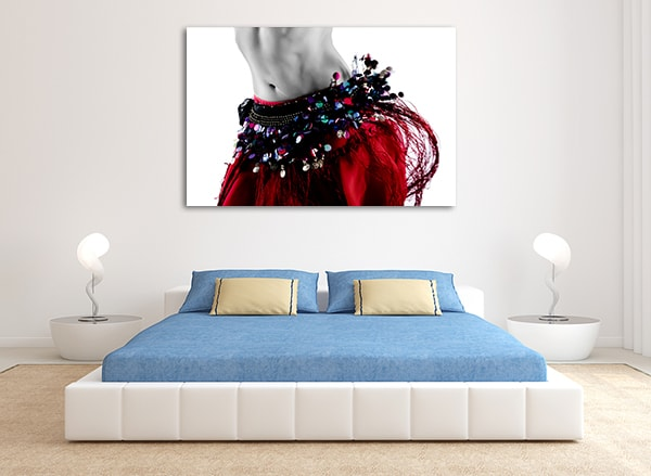Belly Dance Costume Canvas Prints