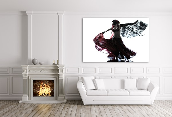 Belly Dancer Canvas Art Prints