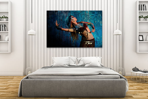 Belly Dancing Canvas Prints