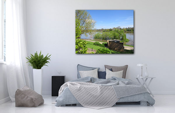 Belvoir Park Wodonga Canvas Art