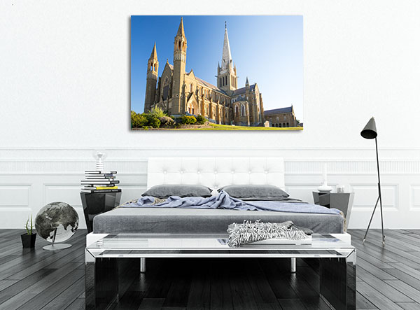 Bendigo Cathedral Spring Prints Canvas