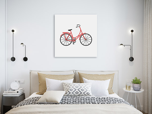 Bicycle Icon Art Prints