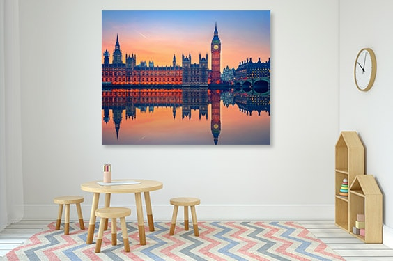 Big Ben Dusk Canvas Art Prints