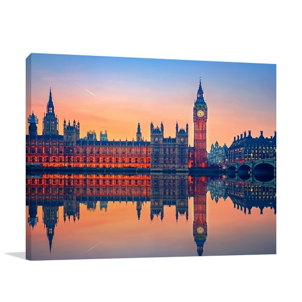 Big Ben Dusk Art Prints