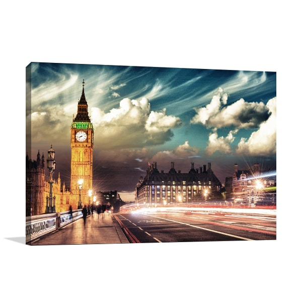 Big Ben London Print Artwork