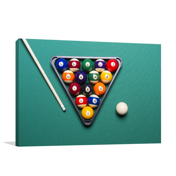 Billiard Table Print Artwork