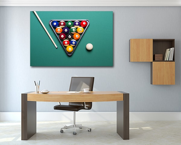 Billiard Table Artwork