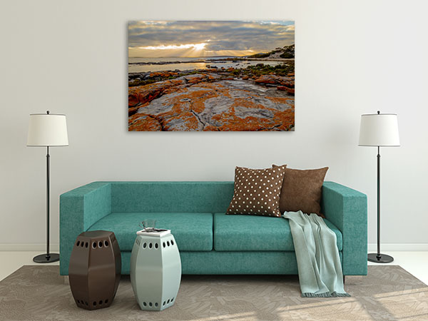 Billy Lights Sunrise Rays Canvas Prints