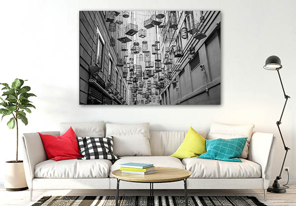 Bird Cage Alley Sydney Art Prints