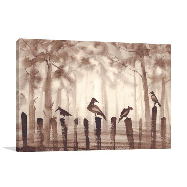 Birds Quietness Canvas Art Prints